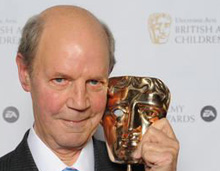 Brian Cant recieves BAFTA